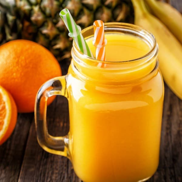 Orange and Pineapple Smoothie