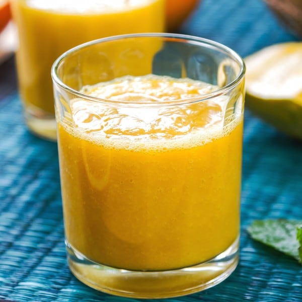 Orange and Mango Smoothie