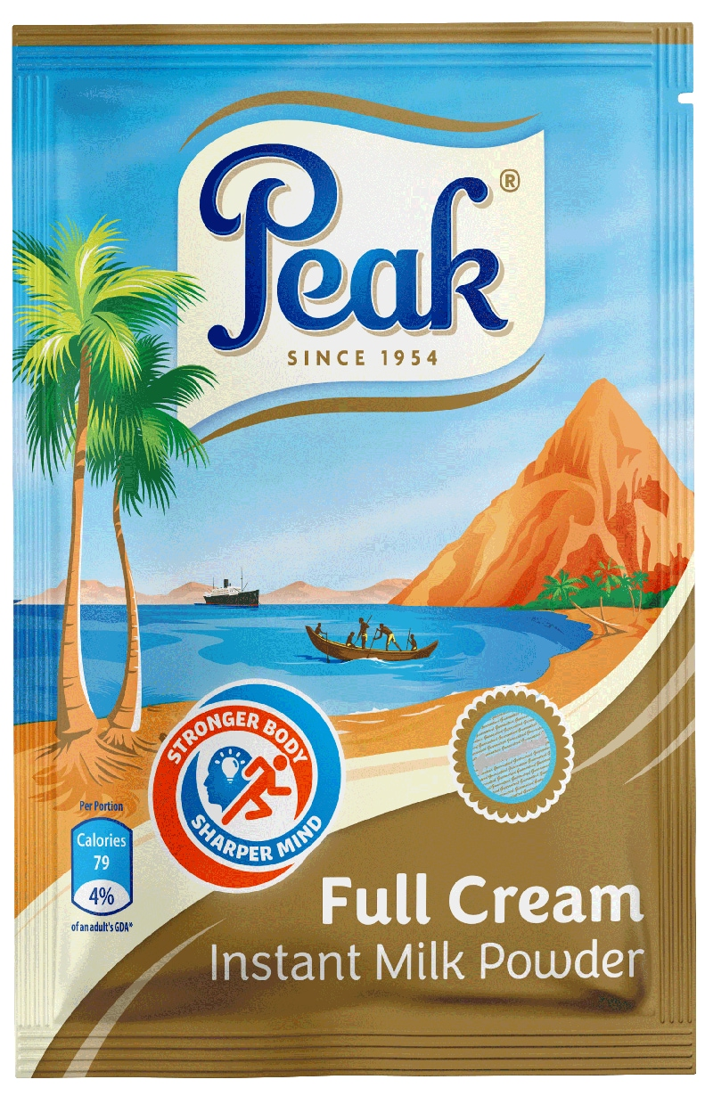 Peak Full Cream Instant Milk Powder Sachet