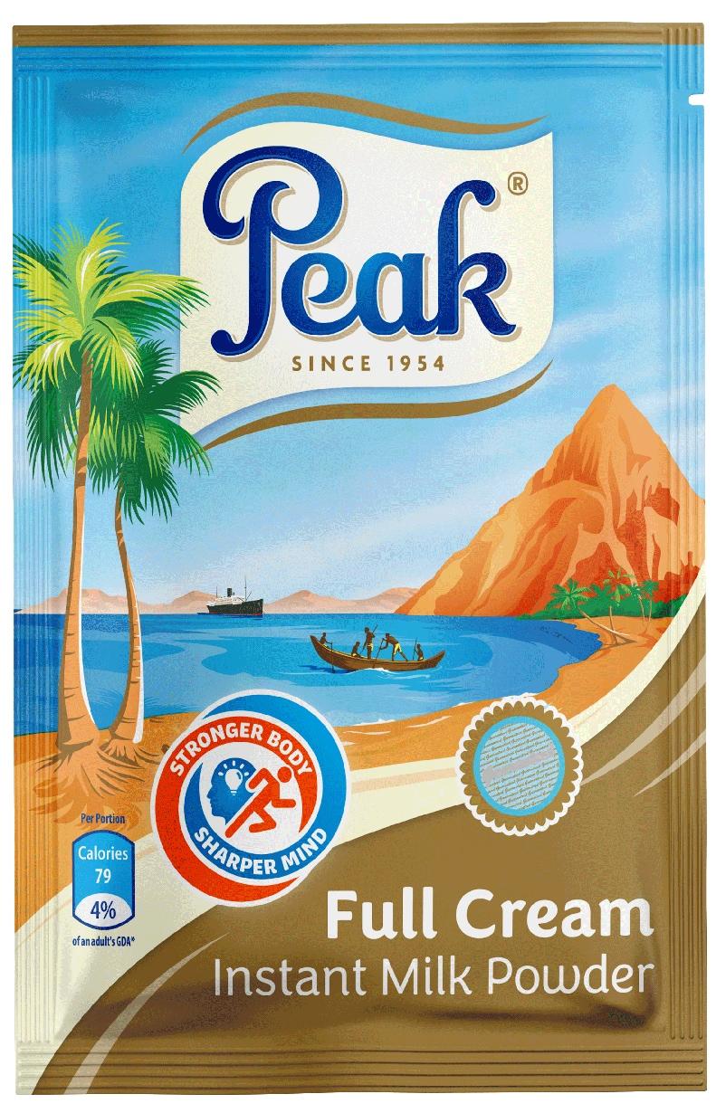 Peak Full Cream Instant Milk Powder Sachet