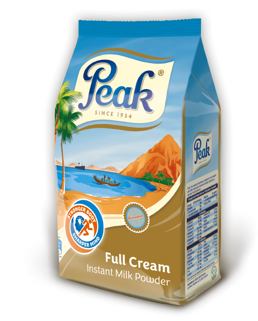 Peak Full Cream Instant Milk Powder Pouch