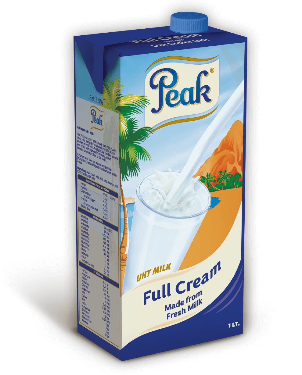 Peak UHT Milk Full Cream