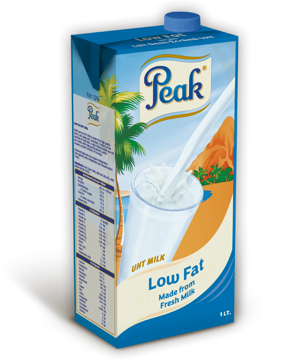 Peak UHT Milk Low Fat