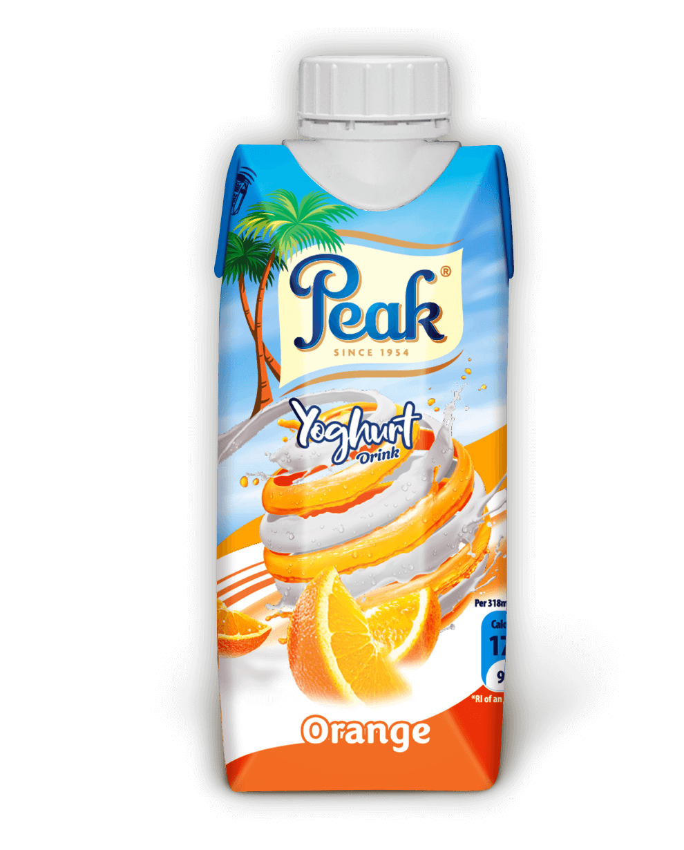 Peak Yoghurt Drink Orange