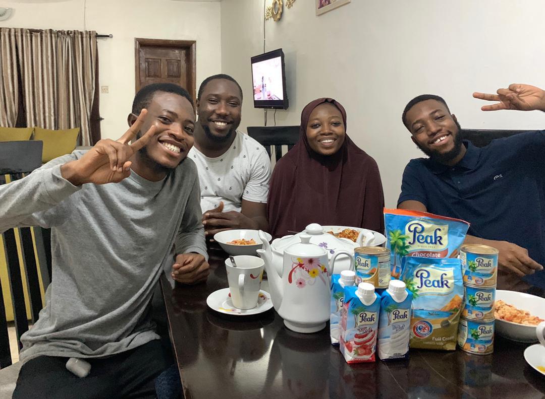 Celebrating Breakfast Challenge with Peak Milk